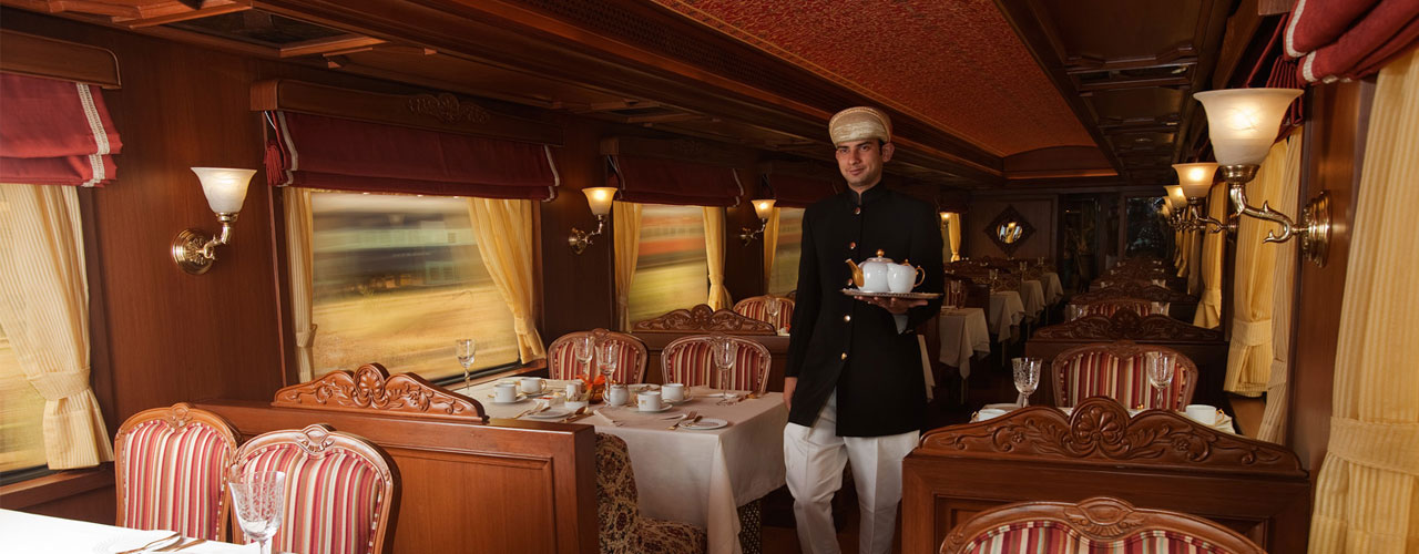 Luxury train provided a best Royal services