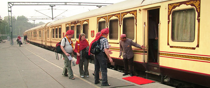 Royal Experince journey with Palace on wheels
