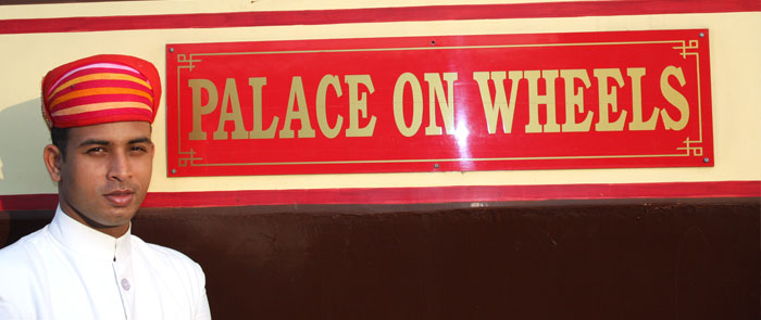 Palace on Wheels invited to be apart of this royal train